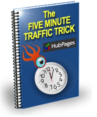 Product picture The Five Minutes Traffic Trick - Hubpages