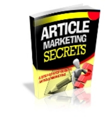 Product picture Article Marketing Secrets **Full Master Resell Rights**
